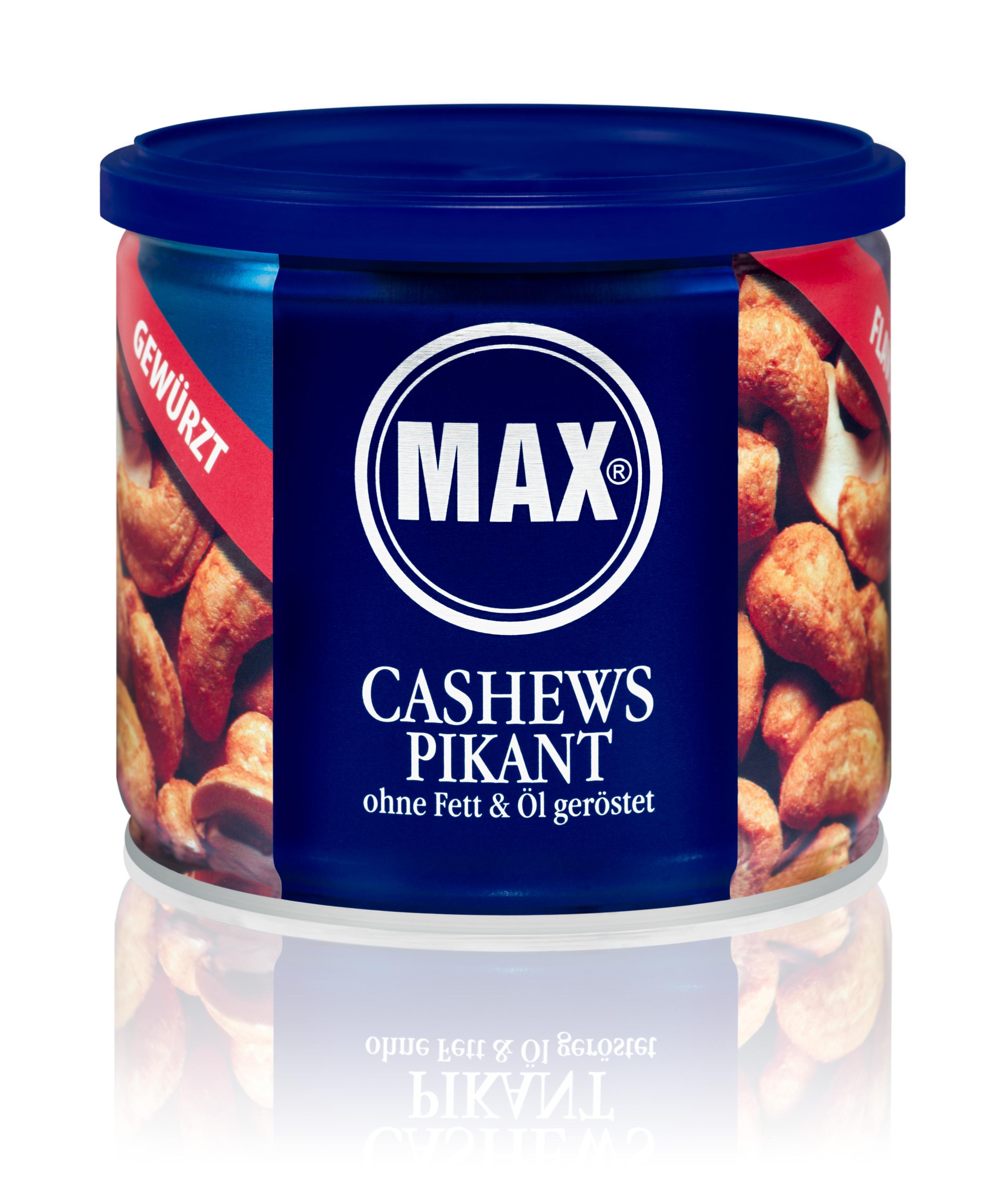 delicatus feinkost aus aller welt max kiene w rz cashews ohne fett und l ger stet 150g. Black Bedroom Furniture Sets. Home Design Ideas